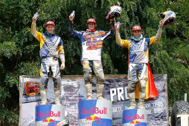 Jonny Walker wins the Red Bull Romaniacs 2015