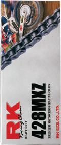 RK Racing Chain 1102-080WG Steel Rear Sprocket and GB530XSOZ1 Chain 20,000 Mile Warranty Kit