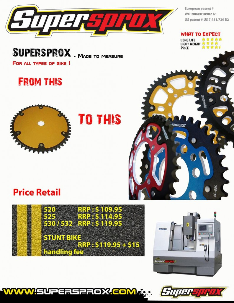 supersprox catalogue 2013 custom sprockets re