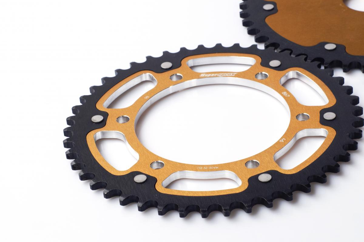 Stealth custom sprockets